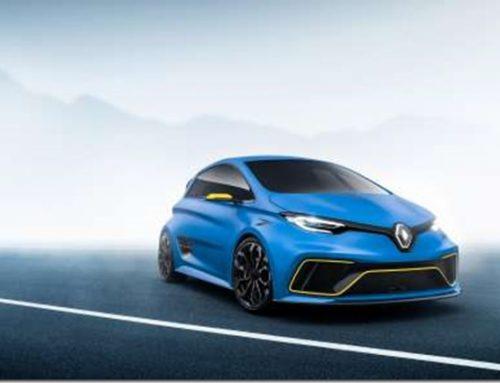 Renault ZOE e-sport electric car concept GENEVA
