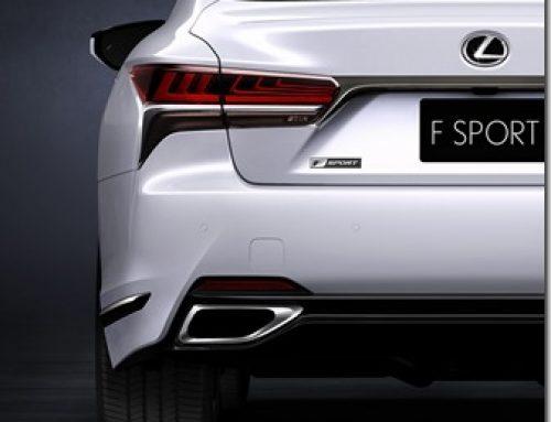 LEXUS will debut LS 500 F Sport at New York Motor Show