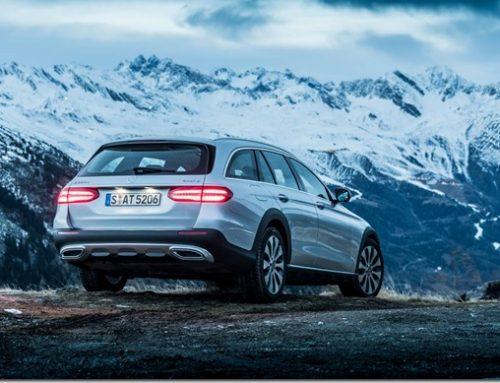 A Merc wagon with off-piste aspirations: E Class All Terrain