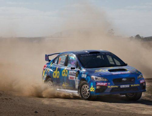 Molly Taylor Subaru Rally Champion