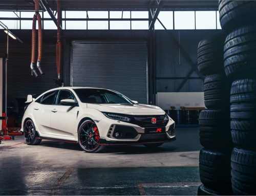 Gents start your engines, Honda Type R is at the starting line