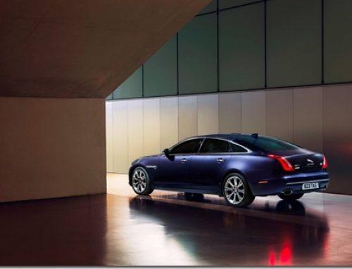 Jaguar's flagship, the leggy XJ Long Wheelbase AutoBiography goes to Canberra