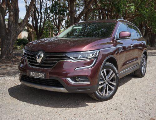 Renault's Koloes: big, ya can't  miss it