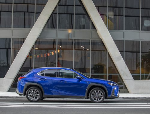 LEXUS UX: The Newest Small SUV Crossover Softroader