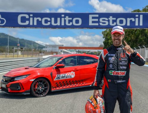 Type R Civic record Estoril Portugul