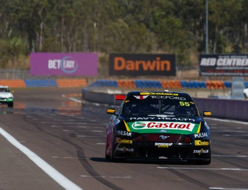 McLaughlin Wins In Mustang Supercar