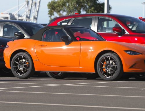 Brilliant Orange Mazda MX5 Special Edition