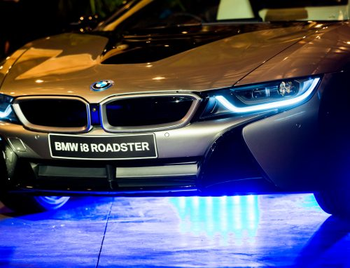 BMW i8 Roadster launch