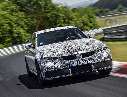 New BMW 3 Series testsing Nordschleife, Nürburgring.