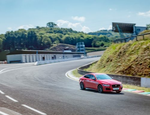 Jaguar XE sets record at Circuit de Charade
