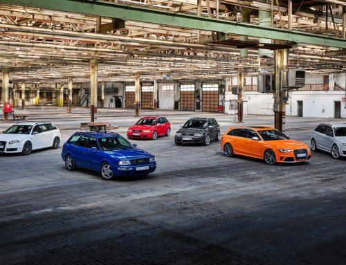 Audi Celebrates 25 Years of RS Models