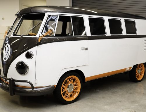 Innovation and Engineering Center California: VW Type 20 Kombi Electric