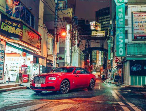 Rolls Royce looking good in Yoshifumi Ogawa's Photo Sojourn