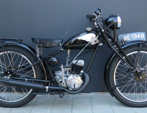 Classic Motor Cycles at Shannons August Auctions