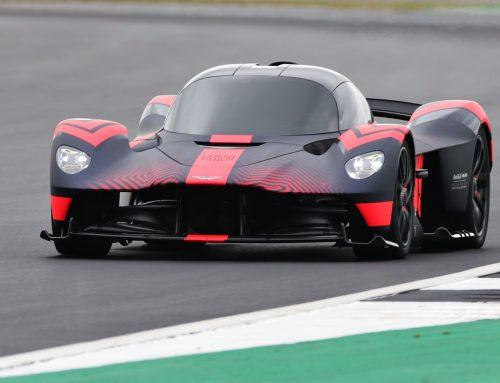 Aston Martin's Valkyrie Silverstone Debut