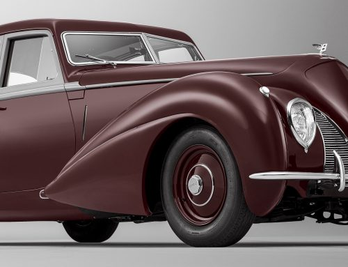 1939 Bentley Corniche Re-Created by Mulliner from Crashed Car