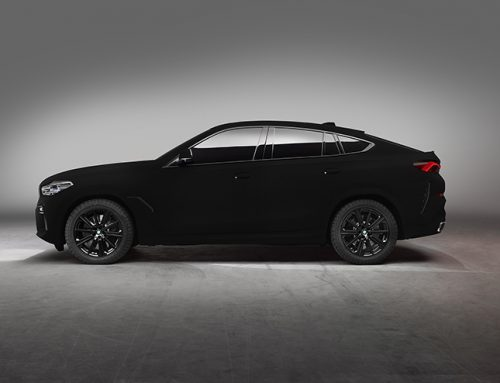 BMW X6 the World's first Vantablack Car