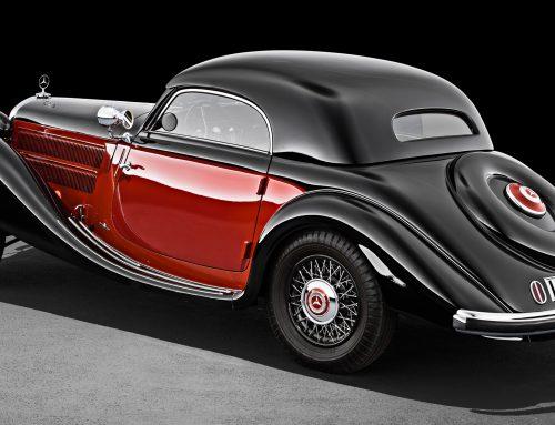 Mercedes Benz SSK Pebble Beach Concours d'Elegance