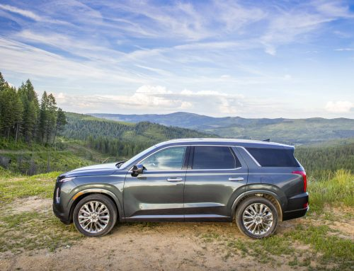 Hyundai Palisade USA Top Safety Pick