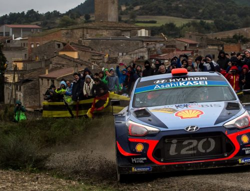 Hyundai Motorsport in Spanish FIA Rally WRC
