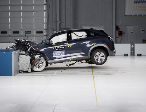 Hyundai NEXO Hydrogen Car Crash test