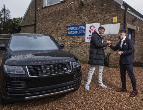 Anthony Joshua and Range Rover Bespoke