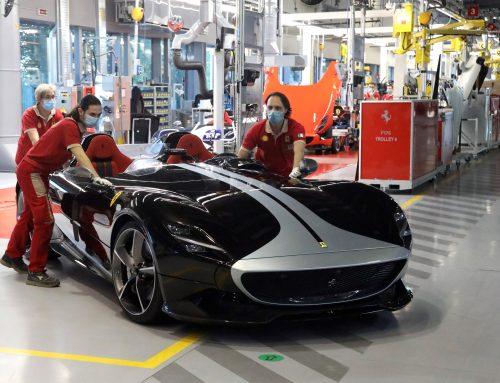 Ferrari Restarts Manufacturing with Covid Checks