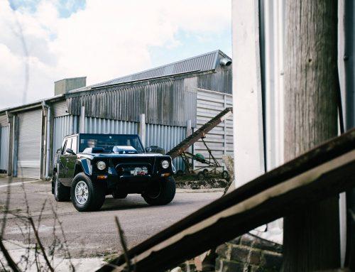 Classic Lamborghini LM 002 at Bell Sport and Classic