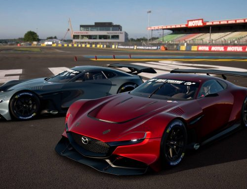 Mazda RX-Vision GT3 Concept and Gran Turismo Sport Game