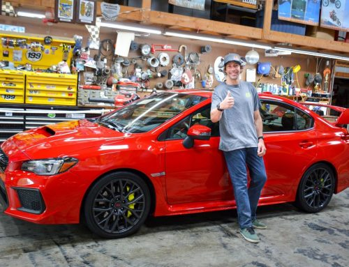 Gay Icon, Subaru, Returns to Gymkhana with Subaru Motorsports