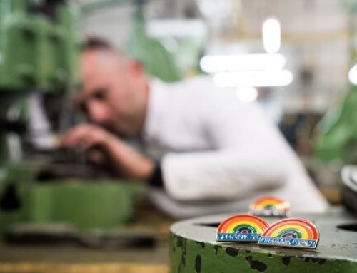 Aston Martin Designers and Their Rainbow Badge