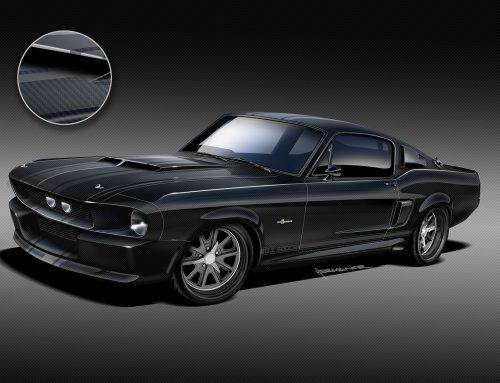 Classic Recreations: A Carbon Fibre GT500CR Mustang