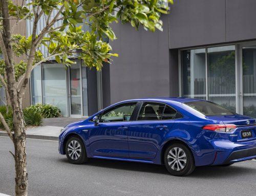 2020 Toyota Corolla Hybrid Sedan – Body in the Boot
