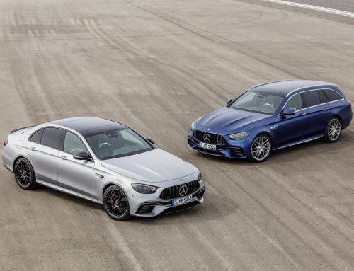 New Mercedes Benz E Class AMG E63+