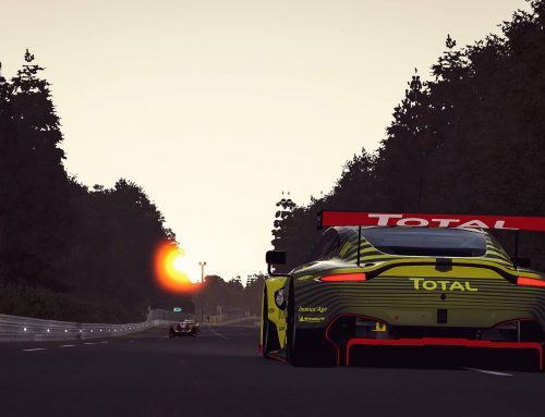 GTE Championship, Aston Martin Racing and Le Mans 24 Virtual Race