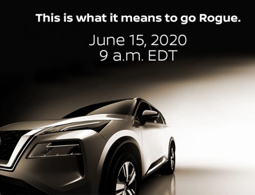 Nissan USA Rogue Teaser. Car Revealed 15th June