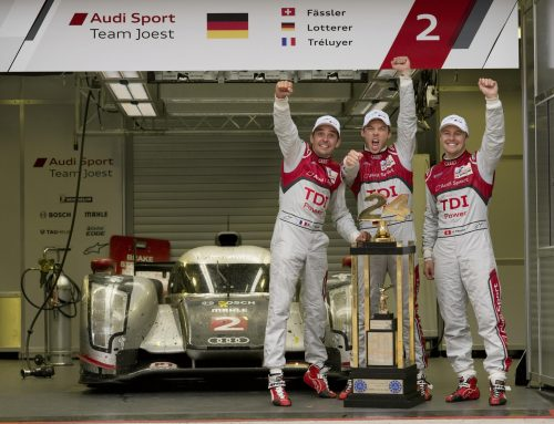 Audi Celebrates 20th anniversary LeMans Win