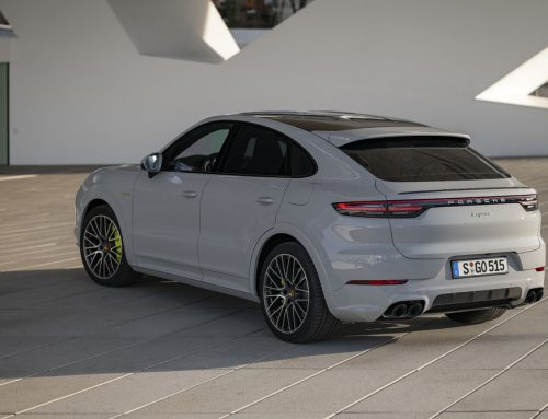 Porsche Cayenne E-Hybrid Now in a Coupe
