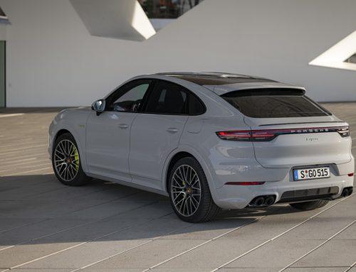 Porsche Cayenne E-Hybrid Now in a Coupe