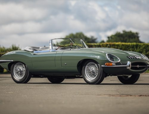 Early Jaguar E-Types at Silverstone Auctions