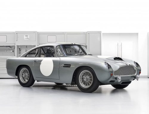Classic Aston Martin DB4GT from Continuation