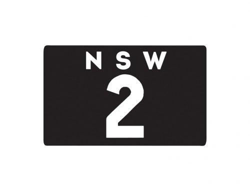 Heritage NSW Registration Plates at Shannons