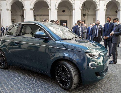 All New Fiat 500 at palazzo Chigi
