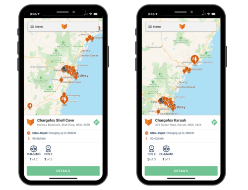 Chargefox Ultra Fast EV Charging Expands in NSW