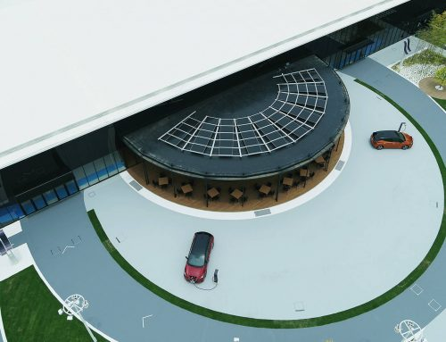 Nissan Pavillion – Pay for Parking with Electricity