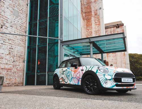 Brisbane Powerhouse and MINI: Mini Art Car