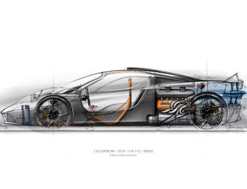 Gordon Murray Design Launches T.50 Supercar