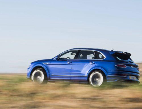 New Bentley Bentayga Speed